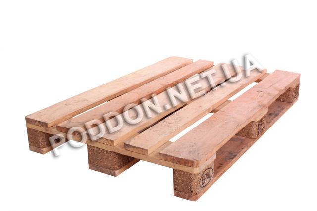 Поддон деревянный Euro 1 сорт, размер 1200x800
