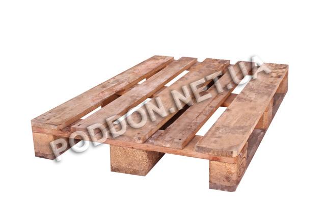 Поддон деревянный Euro 2 сорт, размер 1200x800