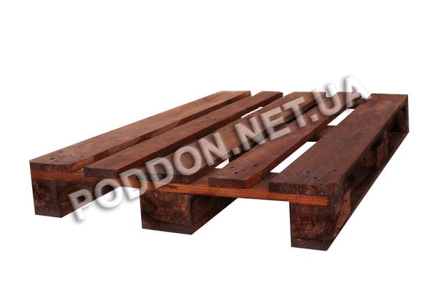 Поддон деревянный Euro 3 сорт, размер 1200x800