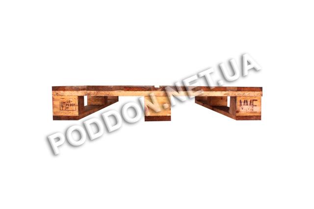 Поддон деревянный облегченный   2 сорт бу Николаев