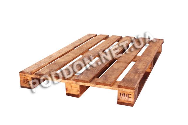 Поддон деревянный облегченный   2 сорт бу, размер 1200x800
