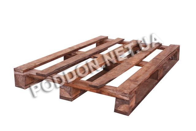 Поддон деревянный облегченный   3 сорт, размер 1200х800